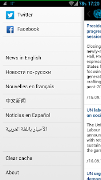 UN News Reader APK screenshot thumbnail 2