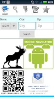 Screenshot of Moose Navigator