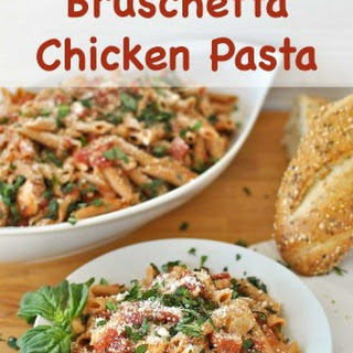 Make it a Viva Italia Night with Bruschetta Chicken Pasta!