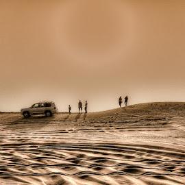Sun n sand by Amit Rajput - Landscapes Deserts ( sand, dubai, safari, uae, sun,  )