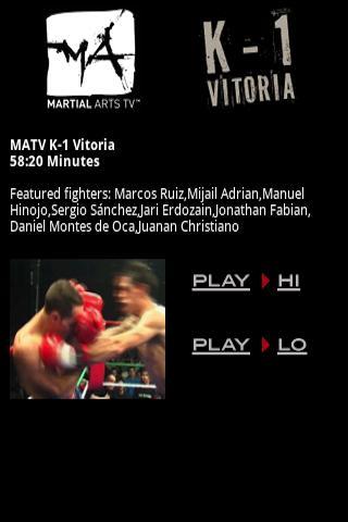 MATV K-1 Vitoria - MMA