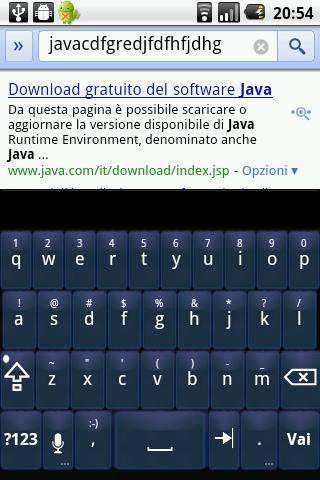 Blue Glass Keyboard Skin