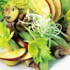 Little Gem, Mushroom Salad With Mustard Dressing
