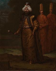 RIJKS: Jean Baptiste Vanmour: Sultan Ahmed III 1730