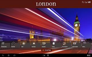 Screenshot of London Travel Guide - Tourias