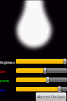 Screenshot of FlashBulb (a.k.a flashlight)