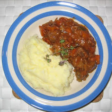 Beef Casserole With Semi Sun-Dried Tomatoes