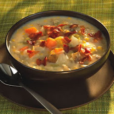 Bacon Sweetcorn and Potato Chowder