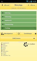 Screenshot of MensApp - Mensa Trier