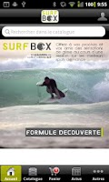 Screenshot of Surf Box coffret cadeau Surf
