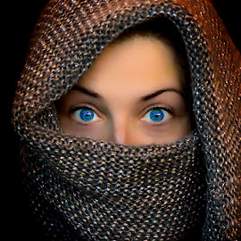 eyes by Jim Cunningham - People Portraits of Women