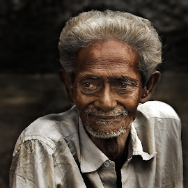 by Tarunabha Dey - People Portraits of Men