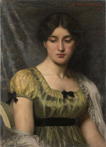 RIJKS: Marie Wandscheer: painting 1886