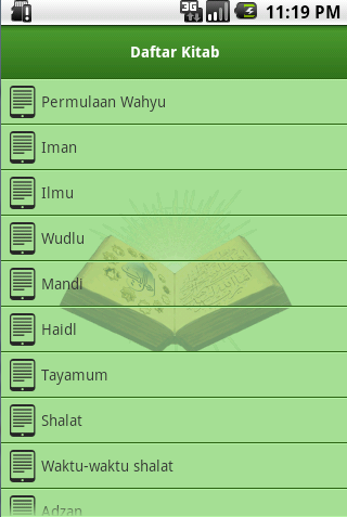 Screenshot #12 of Shahih Bukhari Indonesia / Android