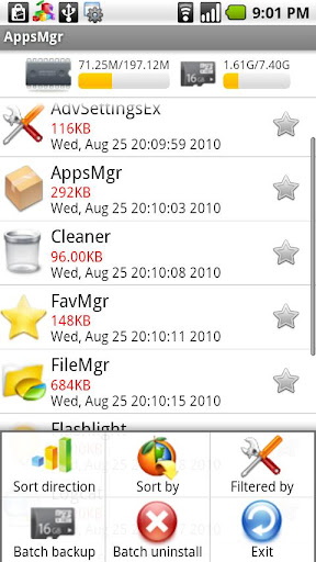 appsmgr-for-mobile-manager for android screenshot