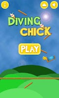 Screenshot of Diving Chick