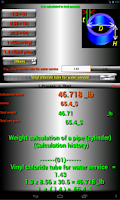 Screenshot of Kg_tool 2 (Weight calculation)