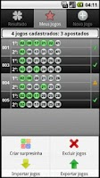 Screenshot of Loterias Mobile Duplasena