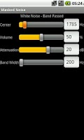 Screenshot of White Noise Generator