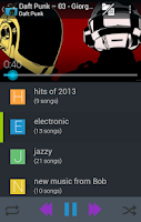 Screenshot of Music Folder Player (original)