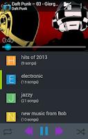 Screenshot of Music Folder Player (original)