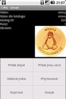 Screenshot of Czech Wood Geocoin