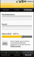 Screenshot of Historiska Stockholmsbilder
