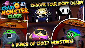 Screenshot of Crazy Monster Clock