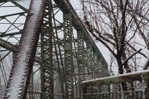 Bridges of Bergen county & snow by Denise Cicchella - Buildings & Architecture Bridges & Suspended Structures ( bridge )