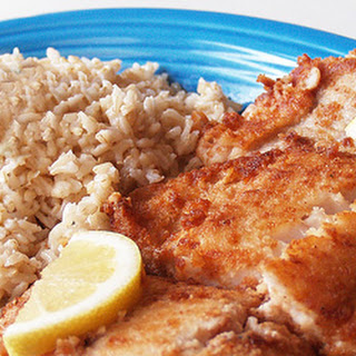 Gluten Free Coconut Fried Fish