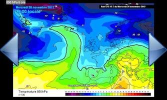 Screenshot of Weather Models Europe