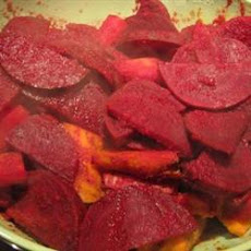 Citrus-Ginger Roasted Beets and Carrots