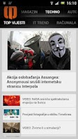 Screenshot of Dnevno.hr