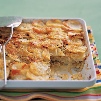 Fennel and Potato Bake