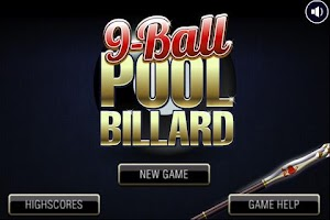 Screenshot of Deluxe 9-Ball Pool Billard HD