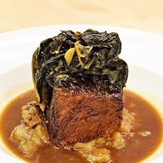 Braised Short Ribs with Sunchokes and Lacinada Kale