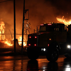 by Richard Turner - News & Events Disasters ( other, ames fire 12.14.12 )