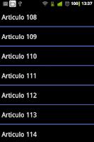 Screenshot of Constitucion de Bolsillo