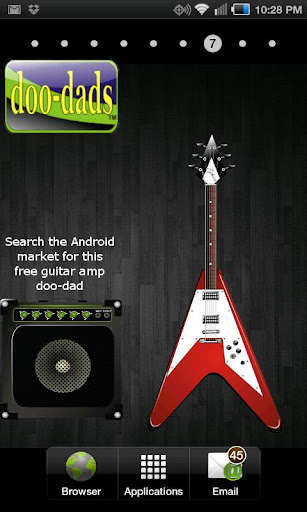 Flying V doo-dad