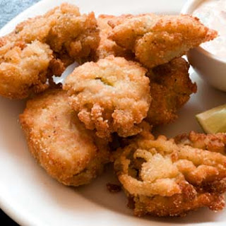 Fried Oysters With Chipotle-lime Dipping Sauce