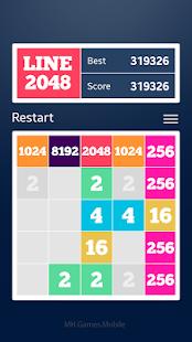 Line 2048 apk screenshot