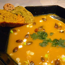 Creamed Potato and Pumpkin Soup