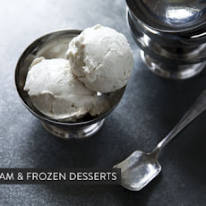 Blackberry Brown Sugar Mascarpone Ice Cream