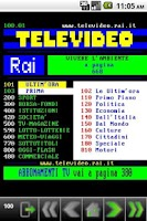 Screenshot of Droid Televideo