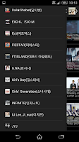 Screenshot of KPOP Korean pop music