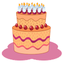 Birthday database icon