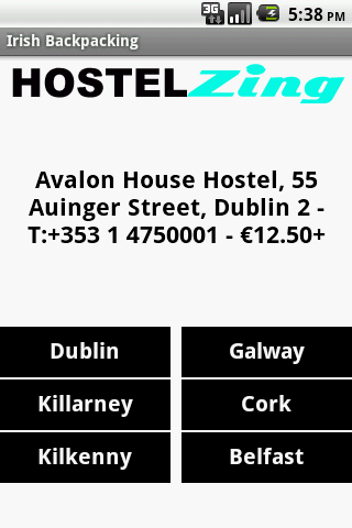 Hostel Zing Ireland