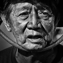 U N C L E by Asmadi Sanaky - People Portraits of Men
