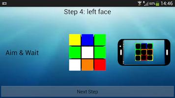Screenshot of Cube Solver