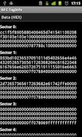 Screenshot of NFC TagInfo